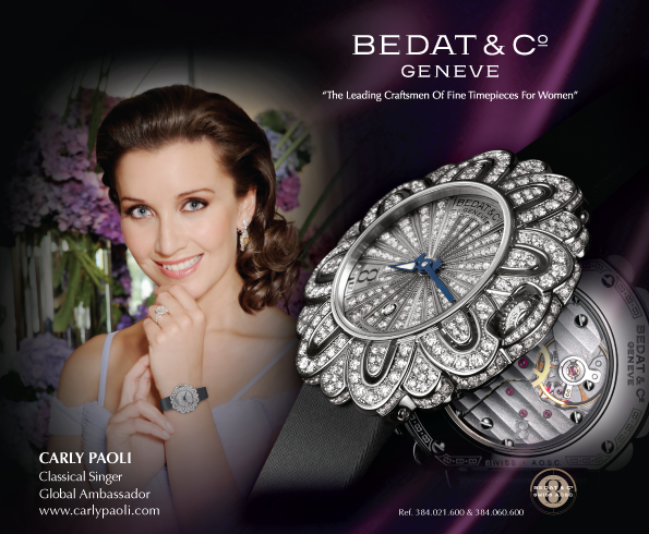 Leading Women's Watch Brand Bedat & CO Geneve Announces Affiliation With Leading Luxury Brand Ralph & Russo